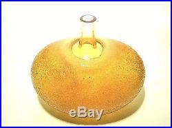 KOSTA BODA Super Egg Glass Vase Signed Bertil Vallien