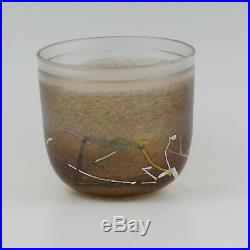 KOSTA BODA Sweden Studio Art Glass Bertil Vallien Artist Collection Bowl