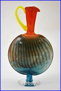 KOSTA BODA x Kjell Engman'Bon Bon Jug Pitcher' Signed Art Glass Bonbon 14 Exc