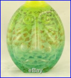 Kjell Engman Kosta Boda Bottle vase from the Rio collection # 89510 9 3/4''T