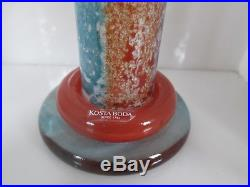 Kjell Engman Kosta Boda Can Can Art Glass Candle Holders Sweden 169148 PR