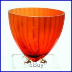 Kjell Engman Kosta Boda Orange Bowl. SUPER RARE! Excellent