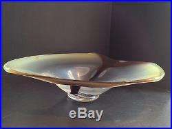 Kosta Art Glass Bowl