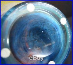 Kosta Boda Art Collection Orange Bowl or Centerpiece