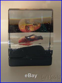 Kosta Boda Art Glass HOUSE OF MYSTERY Sculpture-Black Elements-Bertil Vallien