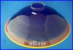 Kosta Boda Art Glass Large Bowl Scandinavian Swedish Crystal