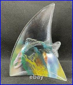 Kosta Boda Art Glass Sculpture Limited Edition Of 400 by Kjell Engman
