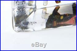 Kosta Boda Art Glass Viewpoints Collection Pegasus 99515 by Bertil Vallien