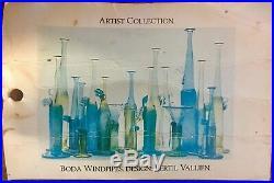 Kosta Boda Artists Collection Windpipes Vase Bertil Vallien 1981