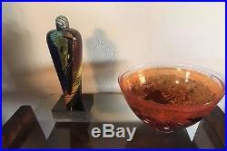 Kosta Boda Atelier by Bertil Vallien Glass Sculpture Limited Edition 300 PC
