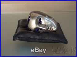 Kosta Boda BRAINS JANUS 2 Sided Head Sculpture- Bertil Vallien- WithBox
