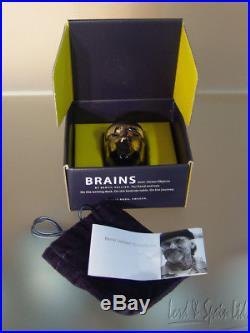 Kosta Boda BRAINS ODEN Head Sculpture- Bertil Vallien- With Box