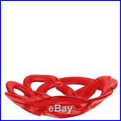 Kosta Boda Basket Bowl Red (Large)