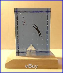 Kosta Boda Bertil Vallien 2005 Dreams Flying High Sculpture Glass Art