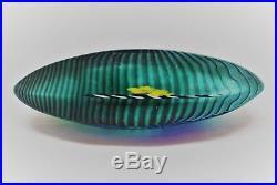 Kosta Boda. Bertil Vallien. Art Object Boat. Signed