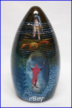 Kosta Boda. Bertil Vallien. Art Object Redman Signed. Limited Edition