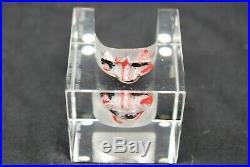 Kosta Boda. Bertil Vallien. Atelier. Art Object Clown's Face. Special Edition