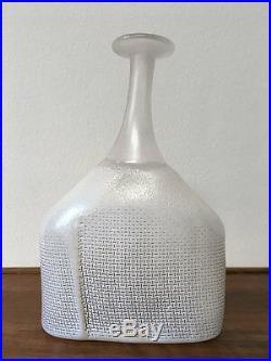 Kosta Boda Bertil Vallien Bottles / Vases Network, Satelite, Wind