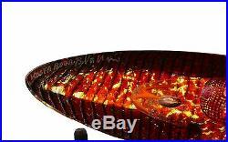 Kosta Boda Bertil Vallien'Burning Head Boat' Limited 1000x Signed