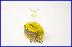Kosta Boda Bertil Vallien, Satellite Series, Bottle Vase 89252, 22cm