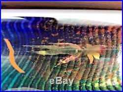Kosta Boda Bertil Vallien Stunning Boat Glass Sculpture