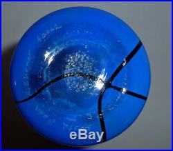 Kosta Boda Blue Line Barcelona Vase By Anna Ehrner