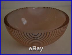 Kosta Boda Bowl Design By Bertil Vallien Marked