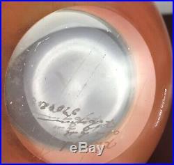 Kosta Boda Bowl (numbered signed)