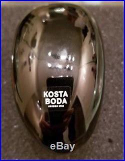 Kosta Boda Brains Sculpture Oden by Bertil Vallien New In Box