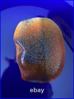 Kosta Boda Brains Swedish Signed Art Glass by Bertil Vallien Cesare No. 4