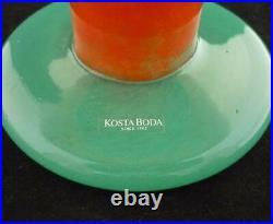 Kosta Boda Can Can Art Glass Centerpiece Bowl Kjell Engman
