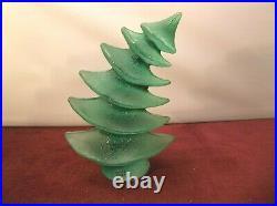 Kosta Boda Catwalk Green Christmas Tree by Kjell Engman