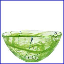 Kosta Boda Contrast Lime Large Bowl