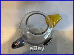 Kosta Boda Duck Bird Decanter Jug Pitcher Glass Design Mid Century Kjell Engman
