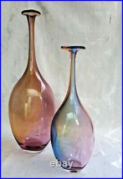 Kosta Boda Fidji Bottle by k Engman 48838 29 cm Tall