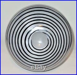 Kosta Boda Gunnel Sahlin, Art Collection 49506, Art Glass Spiral Swirl Vase, 13