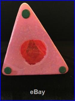Kosta Boda Joy Vase by Monica Backstrom Pink/Orange