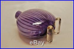 Kosta Boda K. Engman. Vase Pebbles In Lilac And Purple