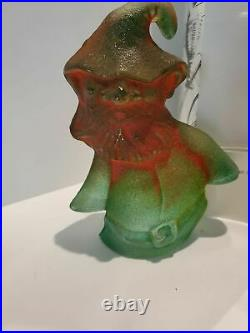 Kosta Boda Kjell Engman Catwalk Santa glass sculpture new in box