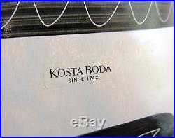 Kosta Boda Large 13 1/2 Tall Cambria Vase By Ulrica Vallien