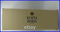 Kosta Boda MOONLANDING Purple to Green 12 3/4 Vase by Monica Backstrom 40063