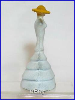 Kosta Boda Madam Catwalk Crinoline Figurine, Designed by Kjell Engman. VGC