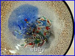 Kosta Boda Meteor Bowl, Bertil Vallien, Artist Collection