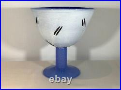 Kosta Boda Open Minds Glass Vase In Blue By Ulrica H Valien. Stunning Condition