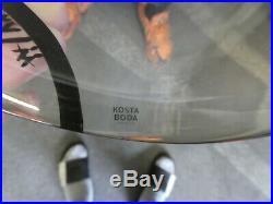 Kosta Boda Open Minds Platter By Ulrica Vallien