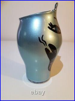 Kosta Boda, Open Minds Vase, Limited Edition 2015 Ulrica Hydman-Vallien