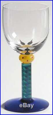 Kosta Boda PALM TREES Wine Glass 1752792
