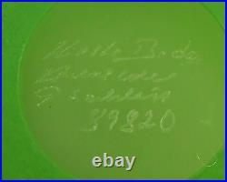 Kosta Boda Pitcher Frosted Glass Lime Green Jug Gunnel Sahlin