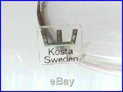 Kosta Boda Set 3 Fish Paperweights, Vicke Lindstrand. Excellent