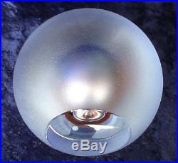 Kosta Boda Signed Goran Warff large abstract sphere sculpture paperweight